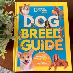 National Geographic Kids Dog Breed Guide Book